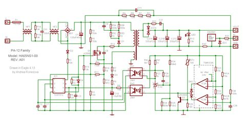 dell pa  power supply schematic electronics projects