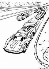 Wheels Coloring Coloriage Printable Cars Voiture Course Transit Enregistree Depuis sketch template