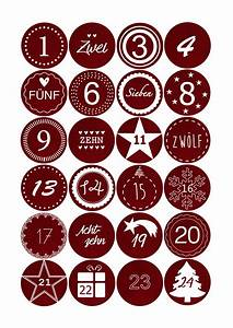 Sticker Machen Lassen : adventskalender sticker stoffoptik rot unikatfabrik you name it we make it ~ Eleganceandgraceweddings.com Haus und Dekorationen
