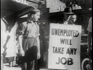 Great Depression    Demonstration    Usa    1930