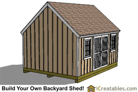 12x16 cape cod larg door shed plans icreatables