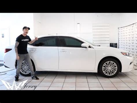 window tint     lexus es youtube