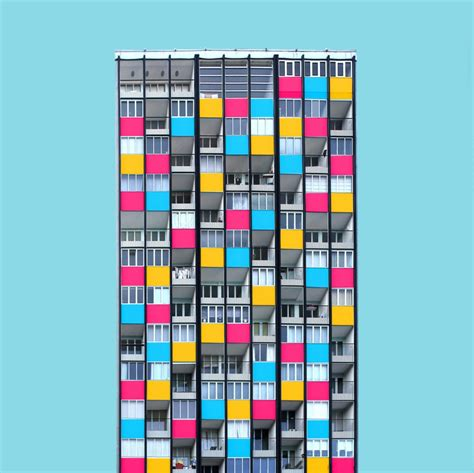 Buildings Become Colorful In Photoshop  Business Insider