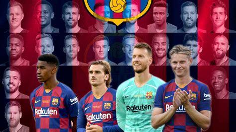 Liga Española FC Barcelona: El uno a uno del Barça en