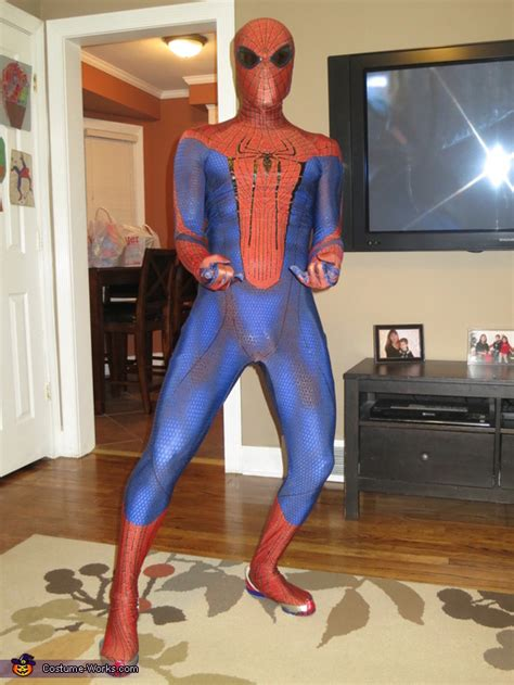 amazing spiderman costume