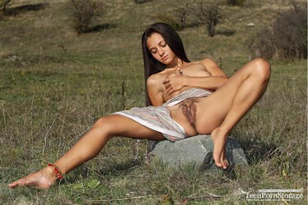 #Delicious #Long #Haired #Teen #Spreading #Legs #And #Showing #Off