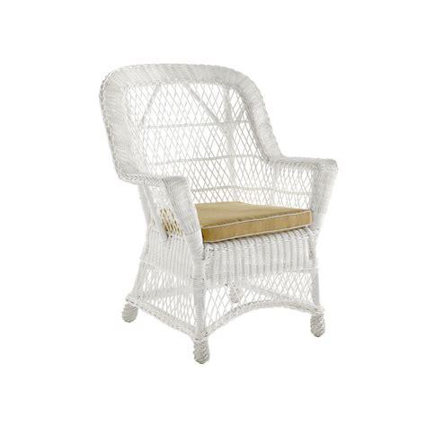 fauteuil de jardin rotin et r 233 sine clasic blanc 4166