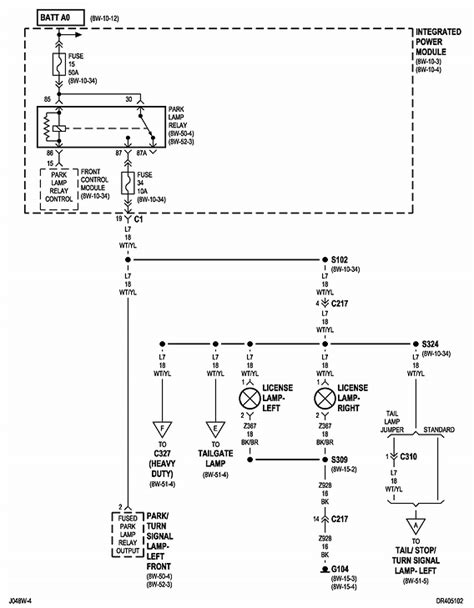 2005 Dodge Ram 3500 Light Wiring Diagram by I Need A Wire Diragram For The Lights On A 2004 Dodge