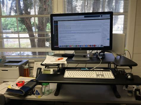 Ergo Standing Desk Mat by I Ve Been Asked A Bunch So Here It Is My Standing Desk
