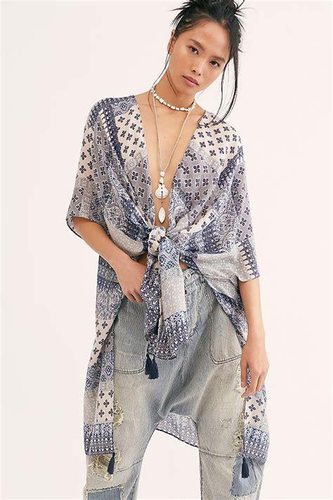 Georgia Patchwork Print Kimono in 2020 | Print kimonos ...