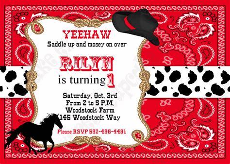 printable cowboy birthday invitations dolanpedia