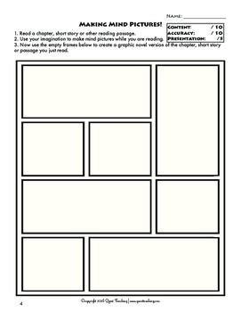 Once you're in the storyboard creator, click on each of the elements on the template to change them to fit your needs. Graphic Novel Templates for Reading Comprehension by Quest ...