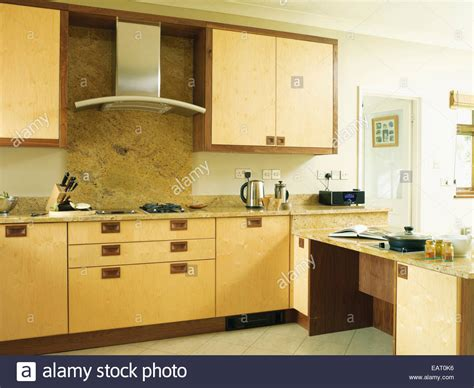 contemporary kitchen hoods cooker above hob in contemporary kitchen stock photo 2494