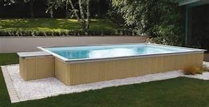 belle piscine carre beton pas cher With sable pour filtration piscine hors sol 10 mini piscines un equipement complet actualites