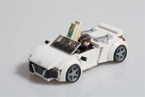 lego audi r8 tony stark s audi r8 spyder from quot iron 2 quot lego lego ideas and lego iron