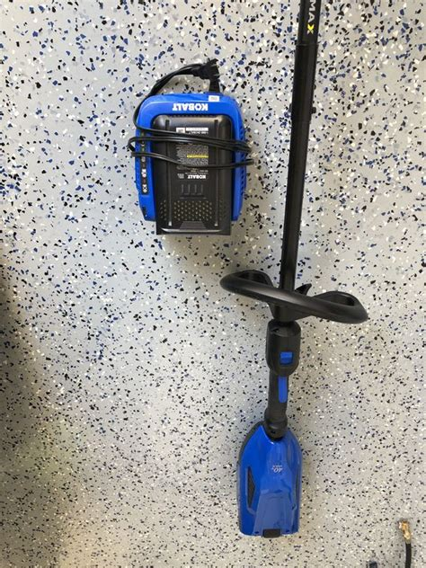 There is no need to maintain a gas engine. Used Kobalt weed eater for Sale in Kissimmee, FL - OfferUp