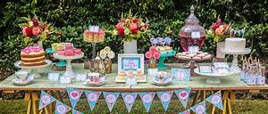 Mothers Day Afternoon Tea Party Dessert Table. Source has ...