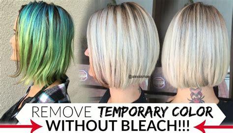 How To Remove Temporary Hair Colors Like Pravana, Manic