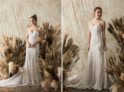 Gowns For The Laid-back Bride