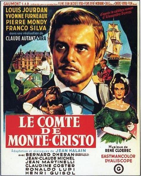 le comte de monte cristo 1961 postere comte de monte cristo le comte de monte cristo le