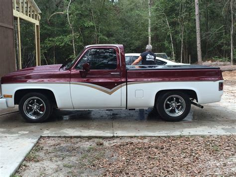 Two Tone Trucks by 1986 Chevy Up Truck Beautiful Two Tone For Sale In
