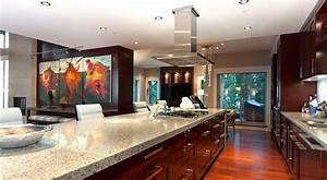 Kitchen Gorgeous Luxury Penthouses Interior Thinkter