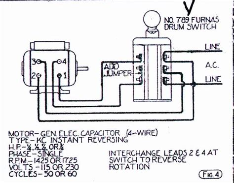 help wiring furnas style drum switch to 9 quot sb w