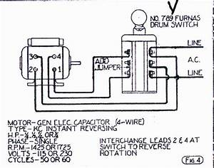 Furnas R44 Drum Switch Wiring Diagram