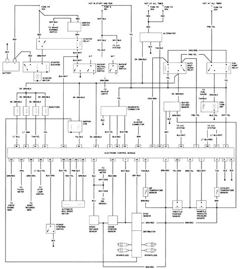 1995 Jeep Wiring Diagram by 1995 Jeep Wrangler Wiring Diagram For Fuel Fixya