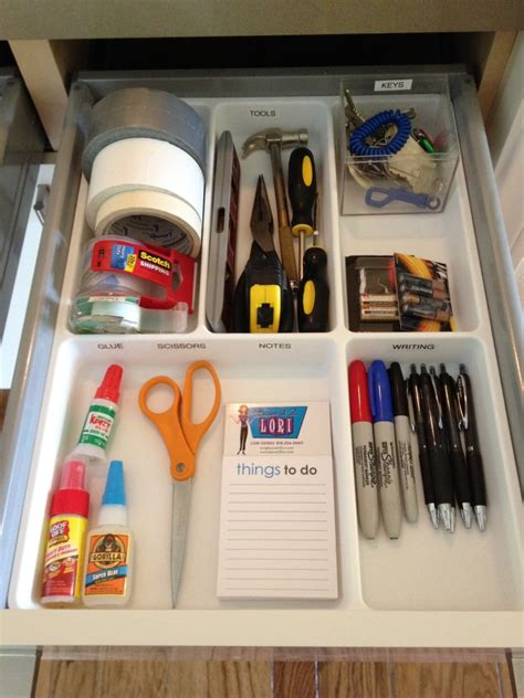 organize junk drawer kitchen taking the junk out of the junk drawer in 6 easy steps 3777