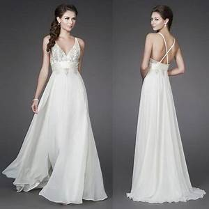 Flowy beach wedding dresses for Flowy beach wedding dresses