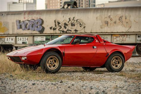 1974 Lancia Stratos Hf Stradale auction block 1974 lancia stratos hf stradale hiconsumption