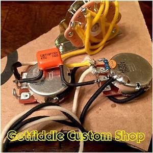 Stratocaster Wiring Harness One Volume One Tone Three Way