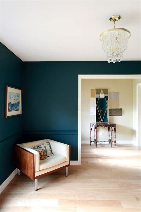 Benjamin Moore Dark Harbor paint color, would be gorgeous