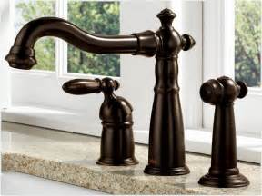 Delta Kitchen Faucet Touch Delta 155 Rb Dst Single Handle Kitchen Faucet With Spray Venetian Bronze Touch On