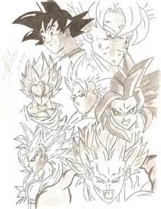 Dragon Ball Z Goku Drawings