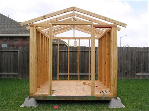 building storage shed   backyard  big