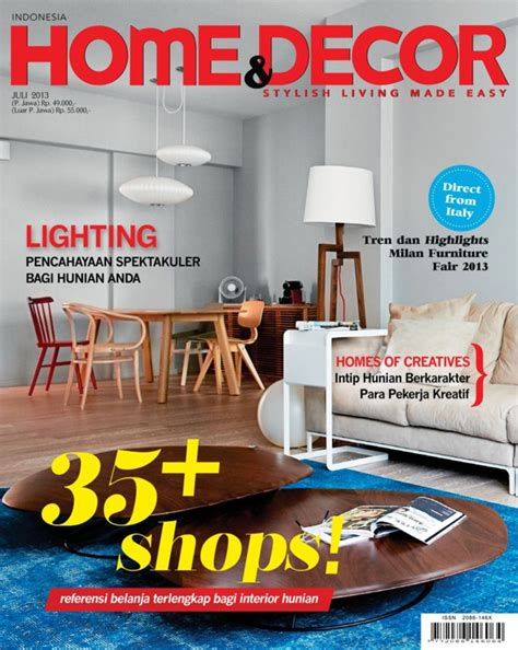 home decor indonesia july  magazine