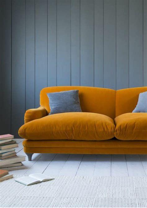 canapé de couleur 17 meilleures idées à propos de canapé jaune sur