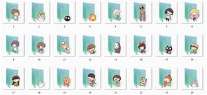 Ghibli Folder Icons by Ginokami6 on DeviantArt
