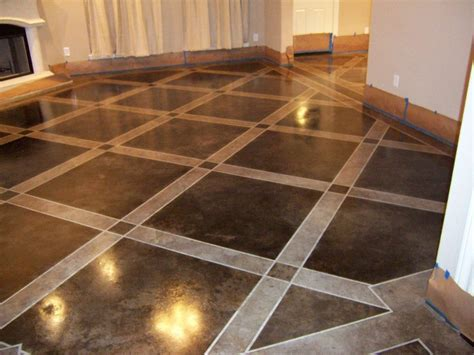 Ideas for Finishing Concrete Basement Flooring