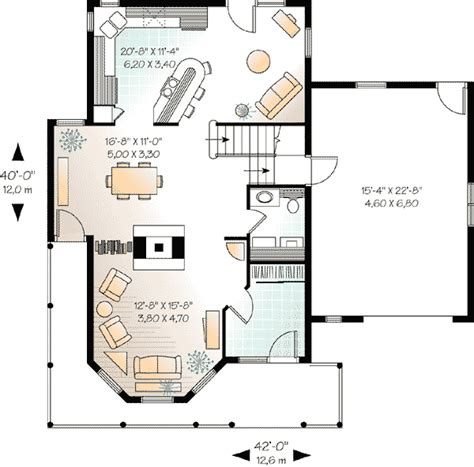 house plans with guest house compact guest house plan 2101dr architectural designs house plans