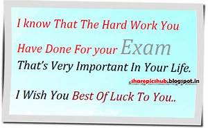 Important in Life | Best of Luck For Exams Greeting Pic ...
