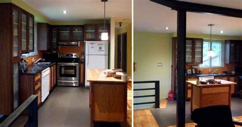 armoires de cuisine renovation cuisine salle à manger salon