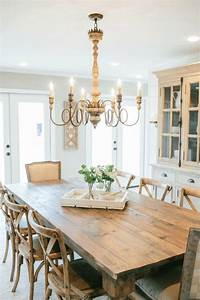 Runde Tischdecken Landhausstil : fixer upper lighting for your home home style pinterest esszimmer rustikale esszimmer und ~ Markanthonyermac.com Haus und Dekorationen