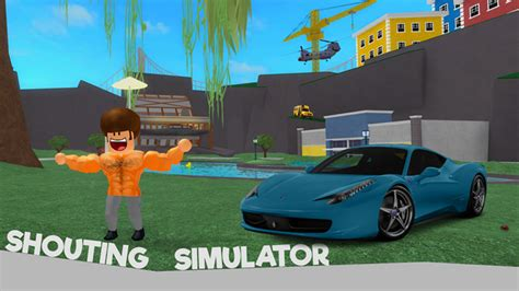 shouting simulator roblox wikia fandom powered  wikia