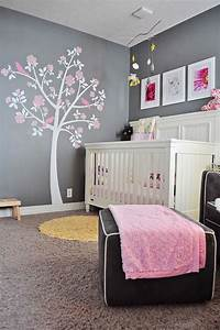decoration pour la chambre de bebe fille arbre sur le With deco mur chambre bebe