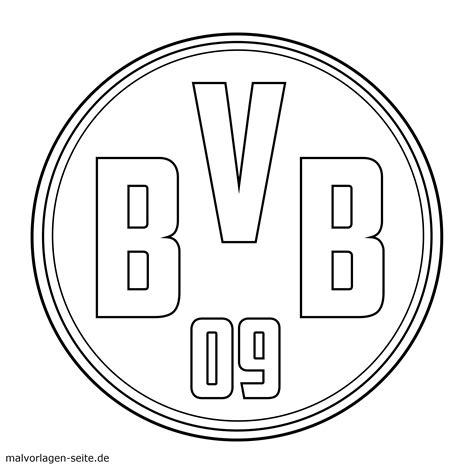 Dortmund Kleurplaat by Vorlage Logo Borussia Dortmund
