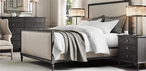 restoration hardware st bedroom collection maison collection