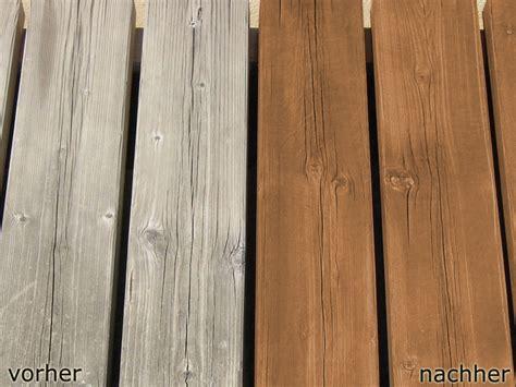 Holzlasur Vorher Nachher by Holz Beizen Vorher Nachher Beizen Holz Holz